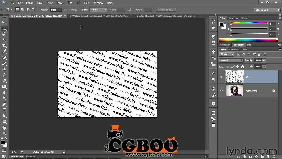 PS CS6一对一完全掌握视频教程Photoshop教程CG帮美术资源网