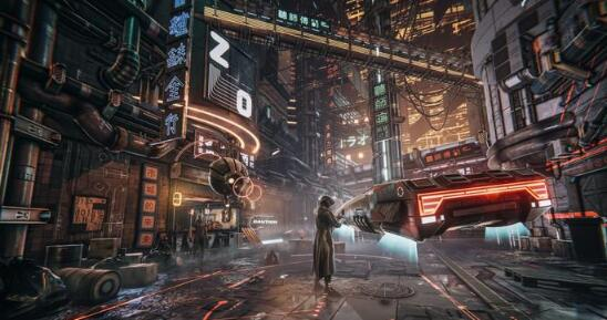 300 Unity3D科幻场景资源The Hunt - Cyberpunk Pack11.jpg