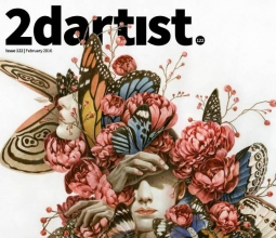 【书籍杂志】2DArtist Issue 122 Feb 2016