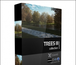 【室内外资源】CGAxis Models Volume 28 Trees III 树木模型