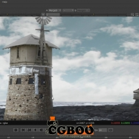 ps nuke合成海景教程Compositing a Desolate Ocean Landscape in Photoshop and NUKE