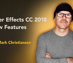 【AE教程】Lynda – After Effects CC 2018 New Features