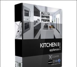 【室内外模型】CGAxis Models Volume 33 Kitchen Appliances II厨房电器