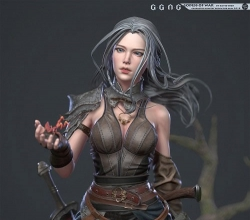 战争女神3D模型 Godess of war 3D Model